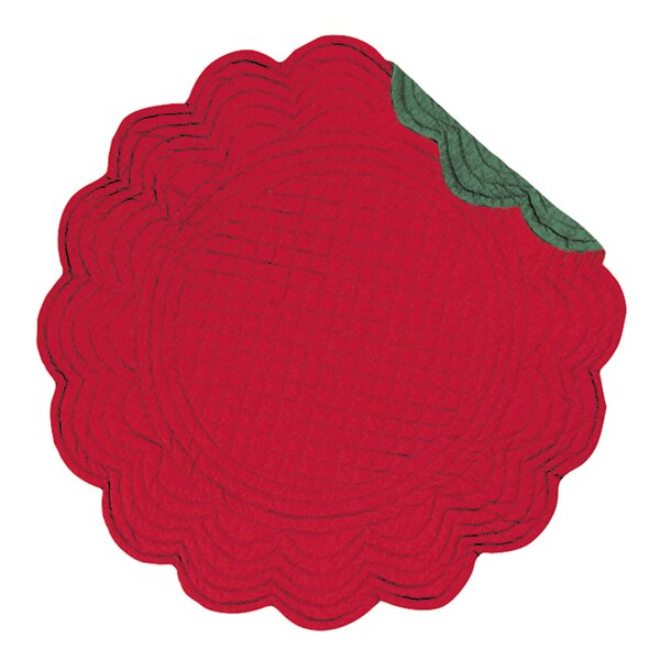 Round Placemat (Set of 6) by C&F Home