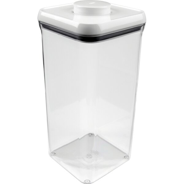 Good Grips Big Square Pop 76.8 Oz. Food Storage Container By Oxo.