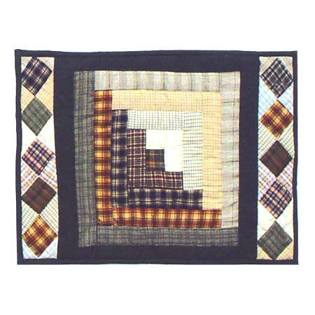 Peasant Log Cabin Placemat (Set of 4) by Patch Magic