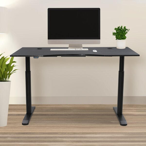 Pro X Height Adjustable Standing Desk by Haaken Furniture