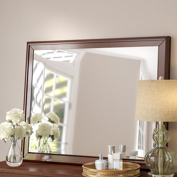 Harbaugh 8 Drawer Double Dresser with Mirror by Charlton Home