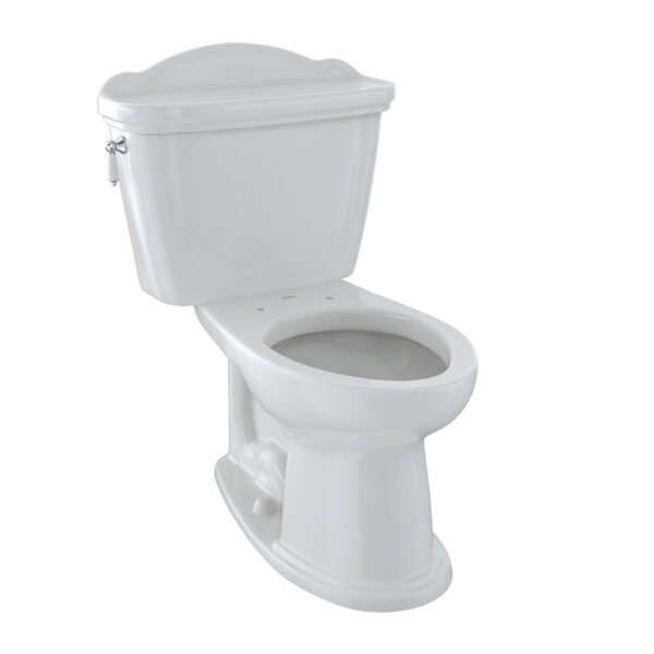 Whitney 1.6 GPF Elongated Two-Piece Toilet by Toto