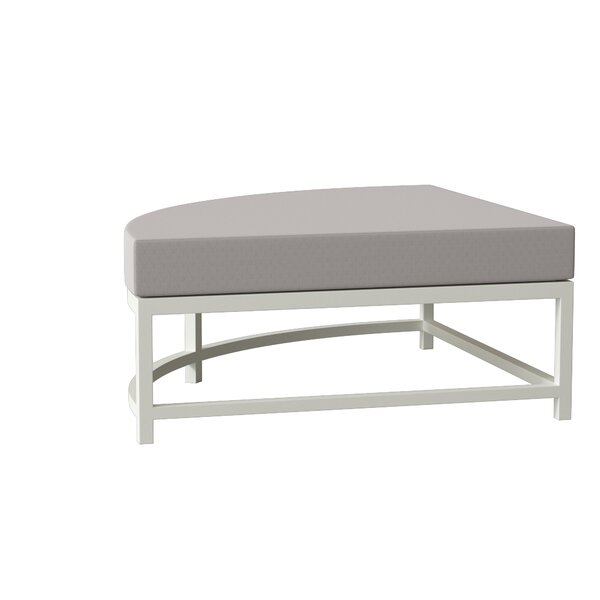 Cabana Club Ottoman with Cushion by Tropitone