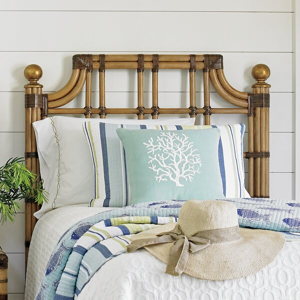 Twin Palms Slat Headboard by Tommy Bahama Home