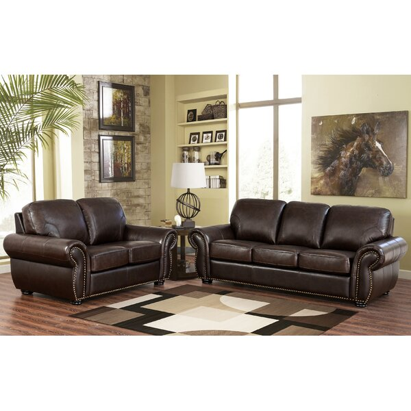 Rosie Leather Configurable Living Room Set By Darby Home Co Herry Up
