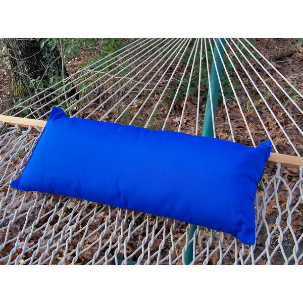 Sunbrella Hammock Outdoor Lumbar Pillow by Twin Oaks Hammocks