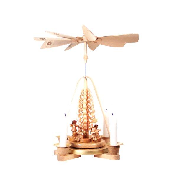 Singing Angels Wood Pyramid by Richard Glaesser