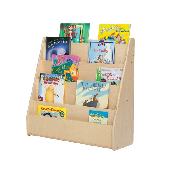 Contender Single Sided Book Display by Wood Designs