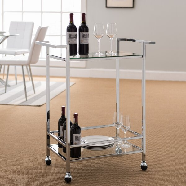 Jolie Bar Cart by Orren Ellis Orren Ellis