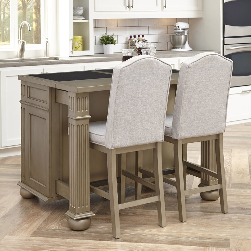 home kitchen dp dining finish com stool styles white tier woodbridge with amazon island