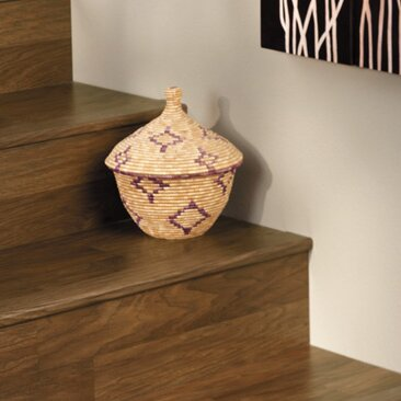 Overlap Stair Nose in Walnut by Quick-Step