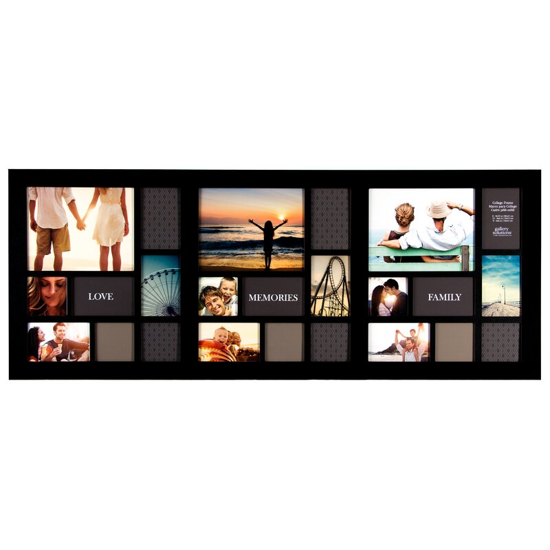 Nielsenbainbridge Gallery Solutions 24 Opening Collage Picture Frame