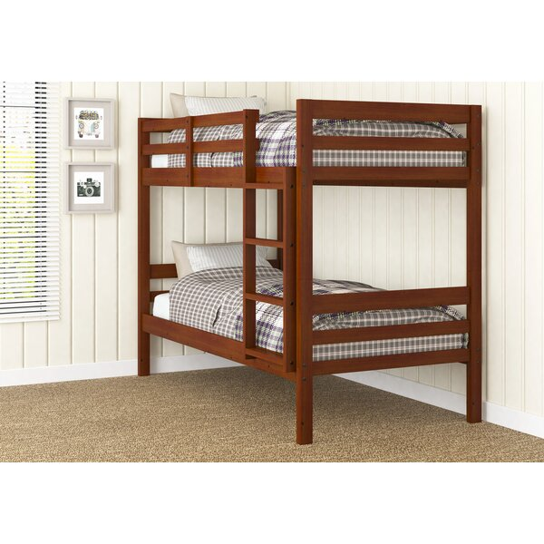 Goddard Ranch Twin over Twin Bunk Bed by Harriet Bee
