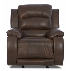 Baton Rouge Recliner with Headrest and Lumbar Support by Darby Home Co