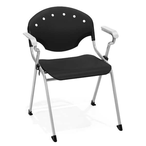 Oleanna Stacking Chair (Set of 4) by Latitude Run