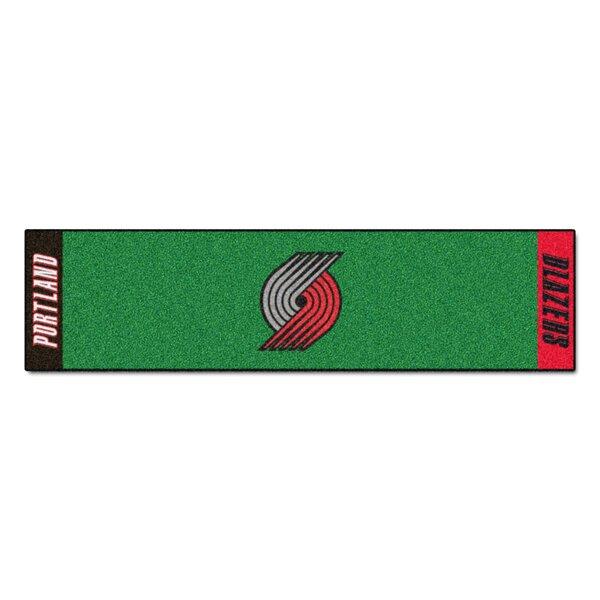 NBA - Portland Trail Blazers Putting Green Doormat by FANMATS