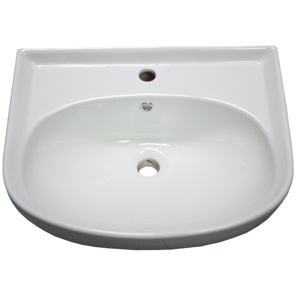 Ceramic Specialty Vessel Bathroom Sink with Overflow