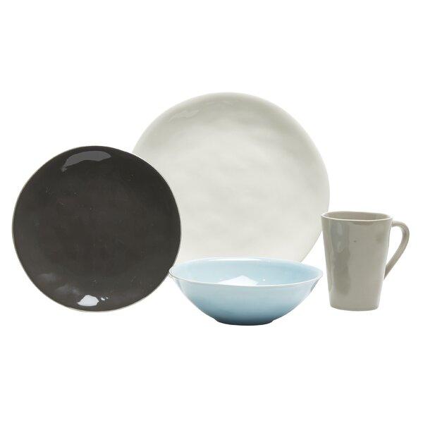 Serenity 16 Piece Dinnerware Set, Service for 4 by Baum