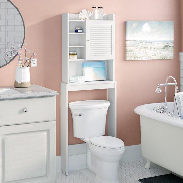 Nemeth 24 W x 67 H Over the Toilet Storage by Beachcrest Home