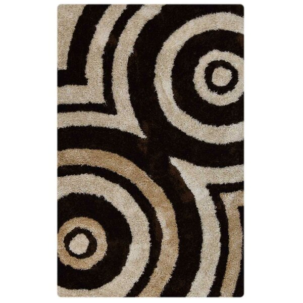 Vest Hand-Tufted Brown/Beige Area Rug by Latitude Run