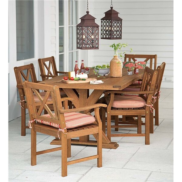 Claremont 7 Piece Dining Set by Plow & Hearth