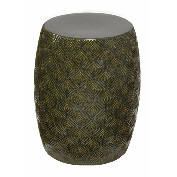 Prichard Contemporary Ceramic Garden Stool by Bloomsbury Market