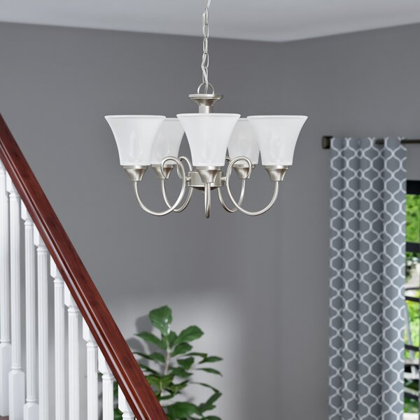 Buren 5-Light Shaded Classic / Traditional Chandelier By Darby Home Co