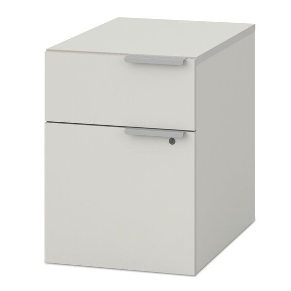Pedestal 4-Drawer Mobile Vertical Filing Cabinet by HON