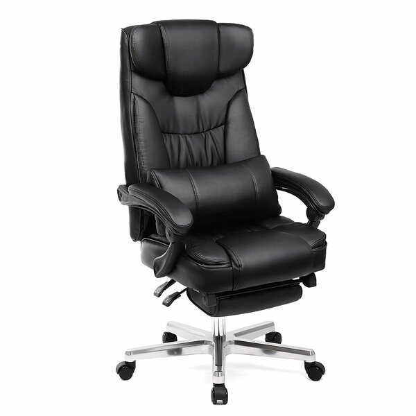 Ethan Foldable Ergonomic Executive Chair by Rebrilliant