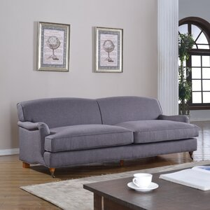 Mid-Century Modern Large Sofa with Casters Madison Home USA