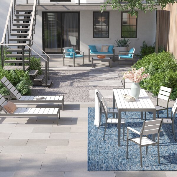 Kiera 13 Piece Complete Patio Set with Cushions by Foundstone