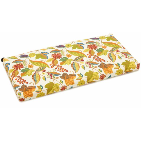 Skyworks Indoor/Outdoor Bench Cushion By Winston Porter