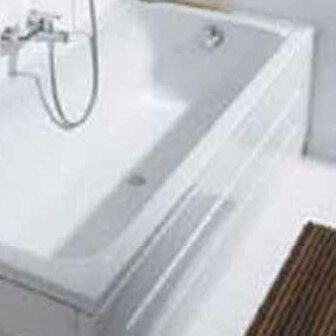 D-Code Front Panel for Bathtub by Duravit