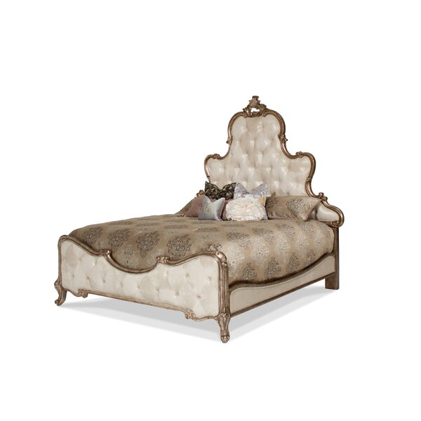 Platine De Royale King Upholstered Panel Headboard by Michael Amini / Jayne Seymour Living