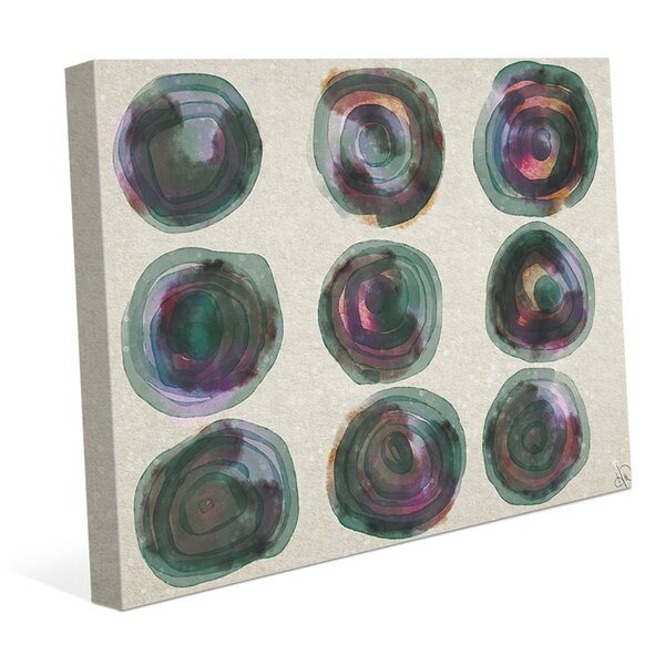 Galaxy Gallery E Painting Print on Wrapped Canvas by Click Wall Art