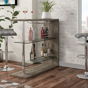 Wadebridge Bar with Wine Storage ByWrought Studio