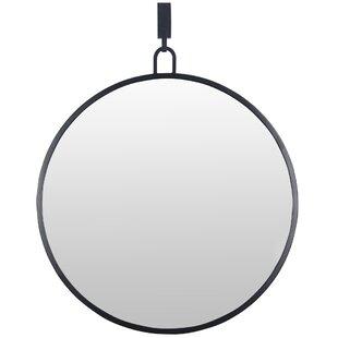 Gracie Oaks Marius Stopwatch Accent Mirror