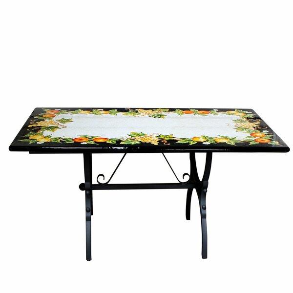 AlmedaCheatham Folding Stone Dinning Table