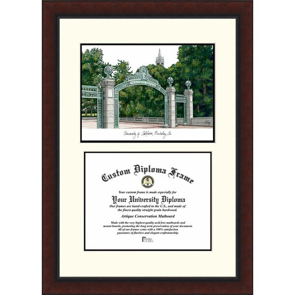 NCAA California University, Berkeley Legacy Scholar Diploma Picture Frame by Campus Images