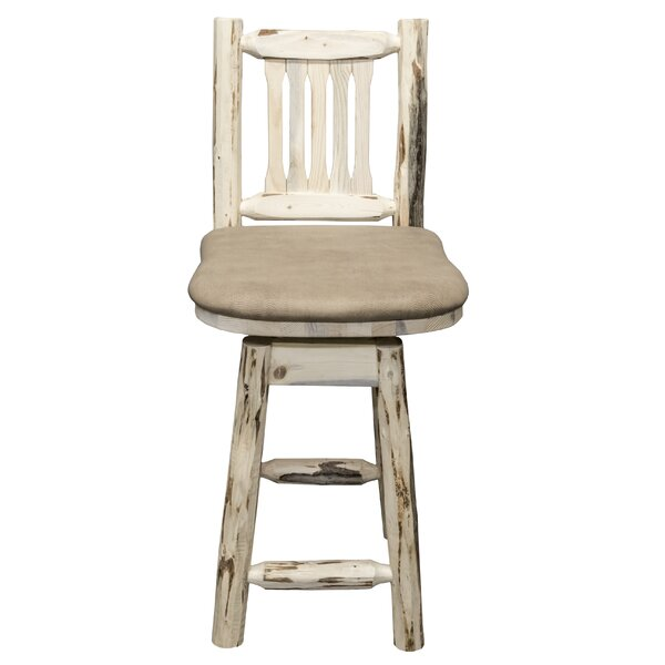 Abordale 24 Square Seat Bar Stool by Loon Peak