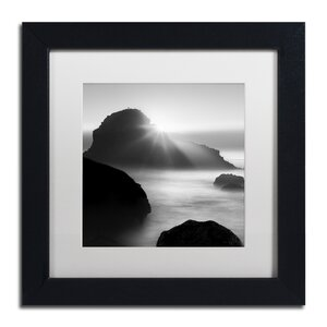 Long Sunset at Indian Beach by Moises Levy Framed Photographic Print by Trademark Fine Art