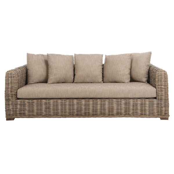 Vara Wicker Sofa by Bay Isle Home Bay Isle Home