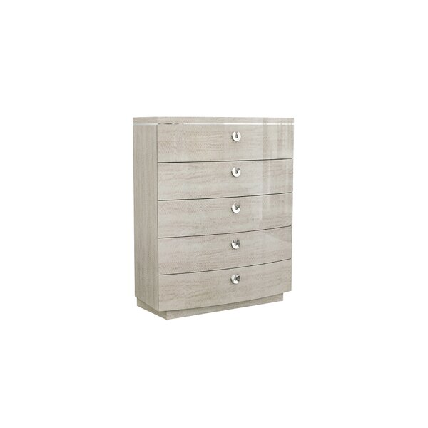 Eaddy 5 Drawer Chest by Orren Ellis