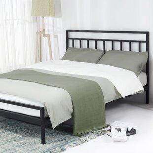 Snelson Model Steel Platform Bed by Red Barrel Studio