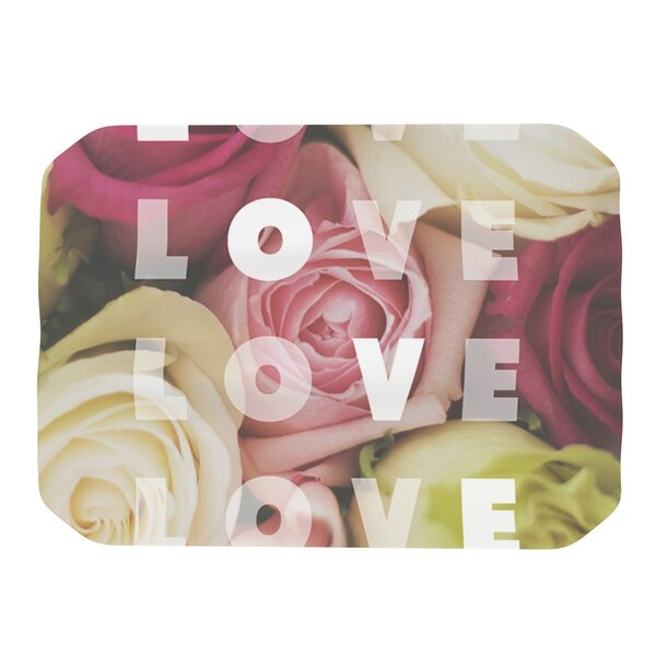 Love Love Love Placemat by KESS InHouse