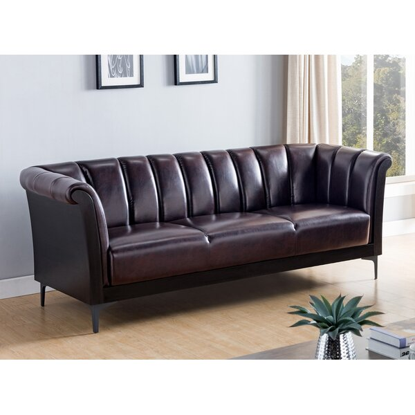 Modern Thacker Chesterfield Sofa by 17 Stories by 17 Stories