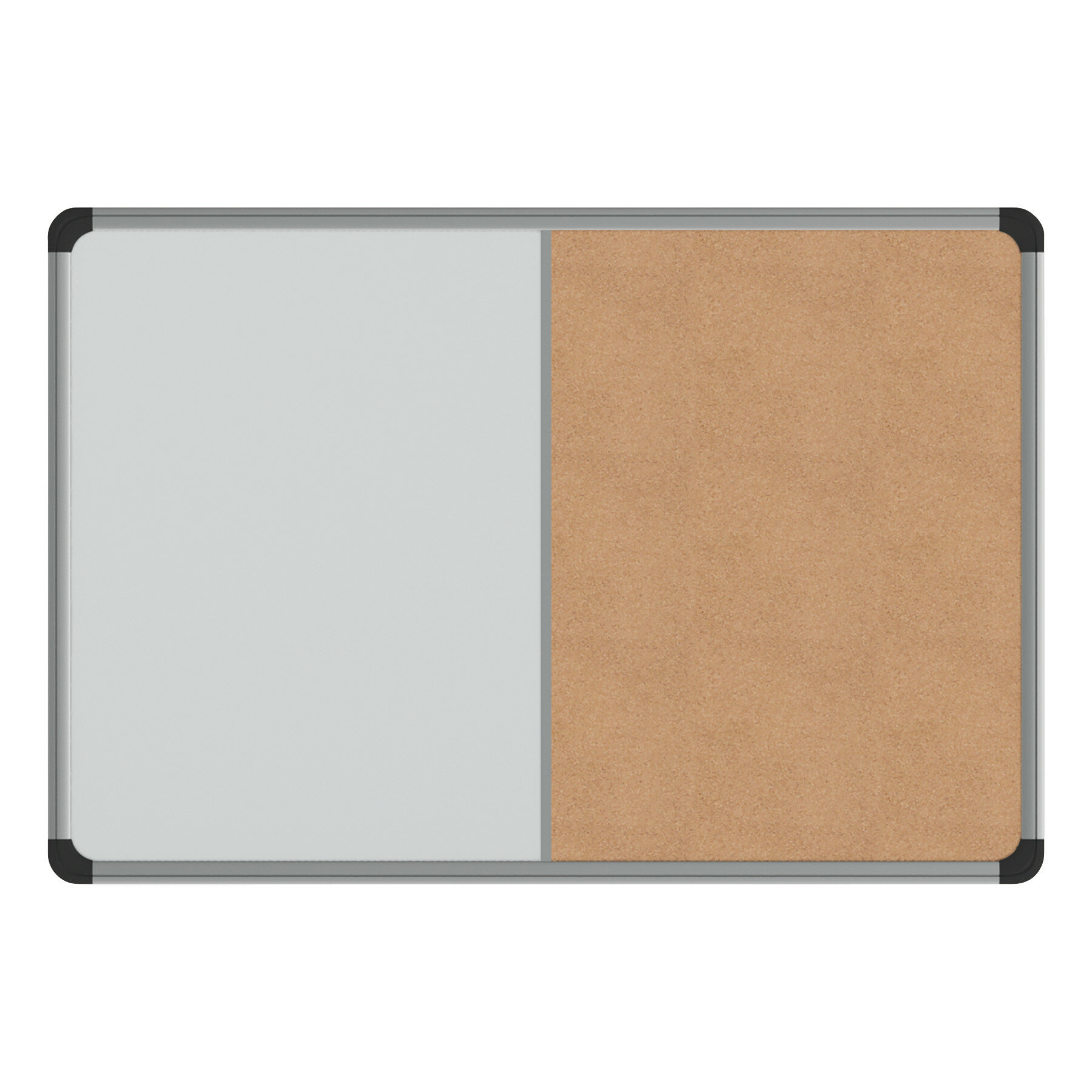 Symple Stuff Magnetic Wall Mounted Combo Board Reviews Wayfair