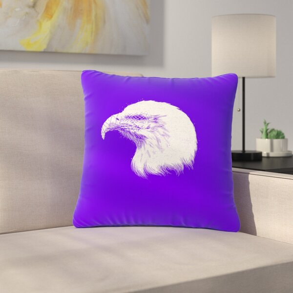 BarmalisiRTB Blind and Silent Outdoor Throw Pillow by East Urban Home
