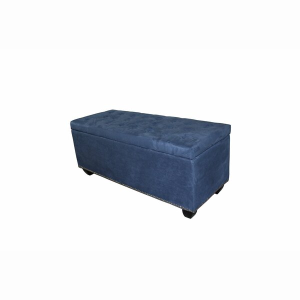Gridley Upholstered Storage Bench by Alcott Hill
