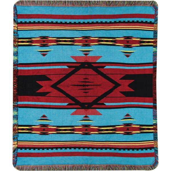Flame Bright Tapestry Throw by Manual Woodworkers & Weavers